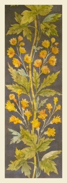 Floral Panel SSFP2 - Interior Elements Art Prints