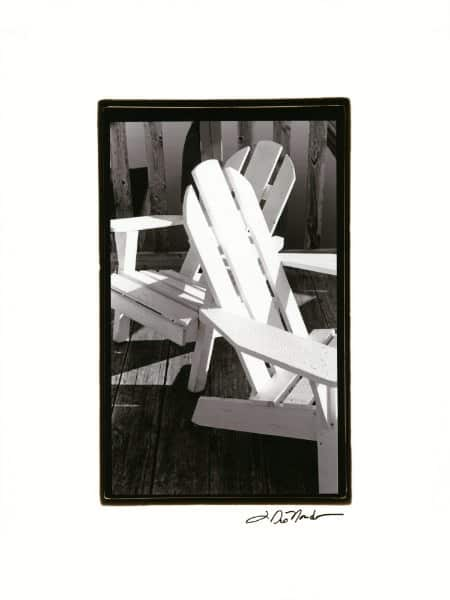 Adirondack Chair SSBWAP6 - Framed Nautical & Boat Photgraphy from Interior Elements, Eagle WI