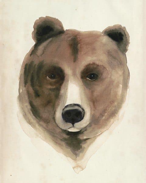 Bear SSWB - Framed Artwork from Interior Elements, Eagle WI