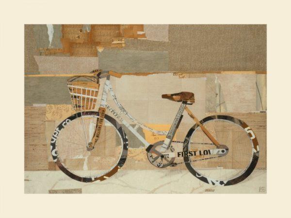Bicycle SSB2 - Framed Vintage Artwork from Interior Elements, Eagle WI