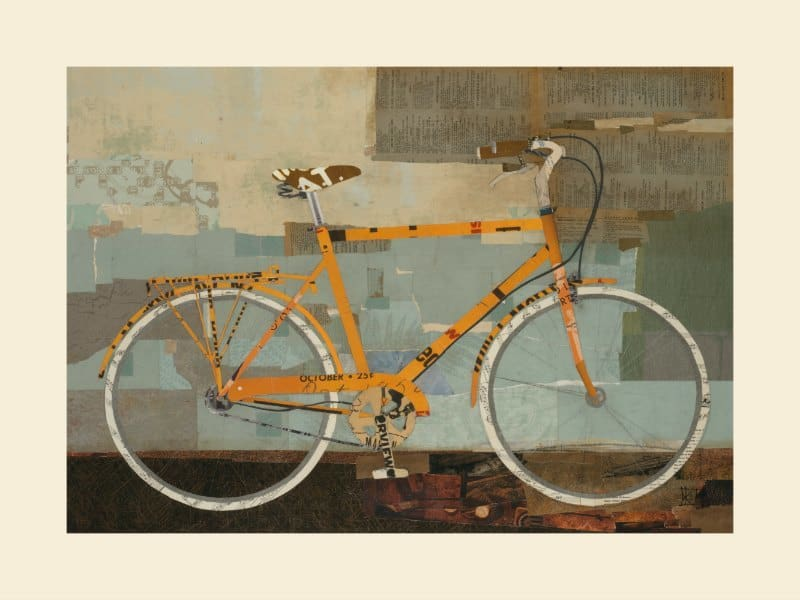Bicycle SSB4 - Framed Vintage Artwork from Interior Elements, Eagle WI