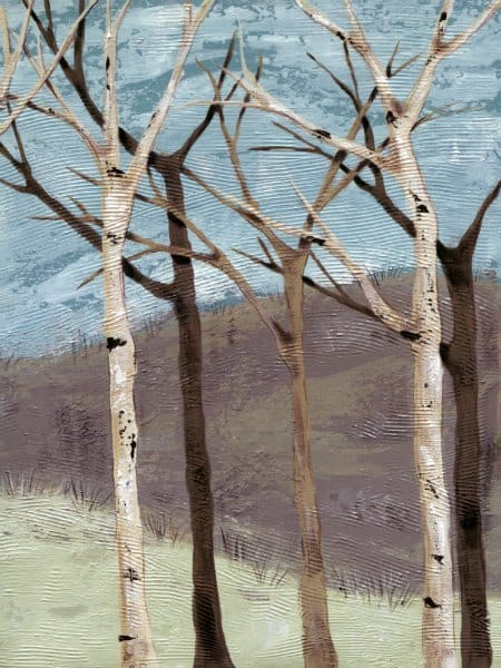 Birch Trees SSBT3 - Framed Scenery Artwork from Interior Elements, Eagle WI