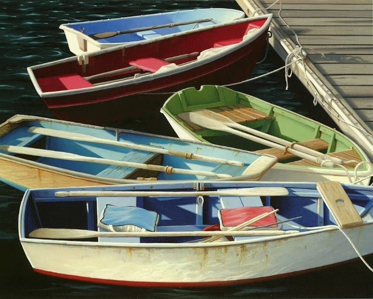 Boats BB1 - Framed Vintage Nautical & Boat Artwork from Interior Elements, Eagle WI