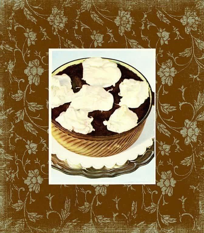 Chocolate Dessert BFC4 - Framed Vintage Artwork from Interior Elements, Eagle WI