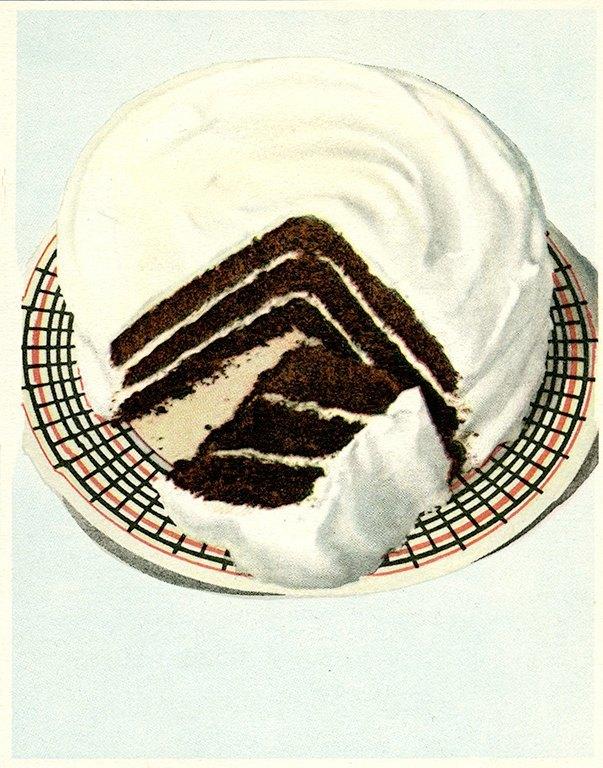 Chocolate Dessert BFCI2 - Framed Vintage Artwork from Interior Elements, Eagle WI