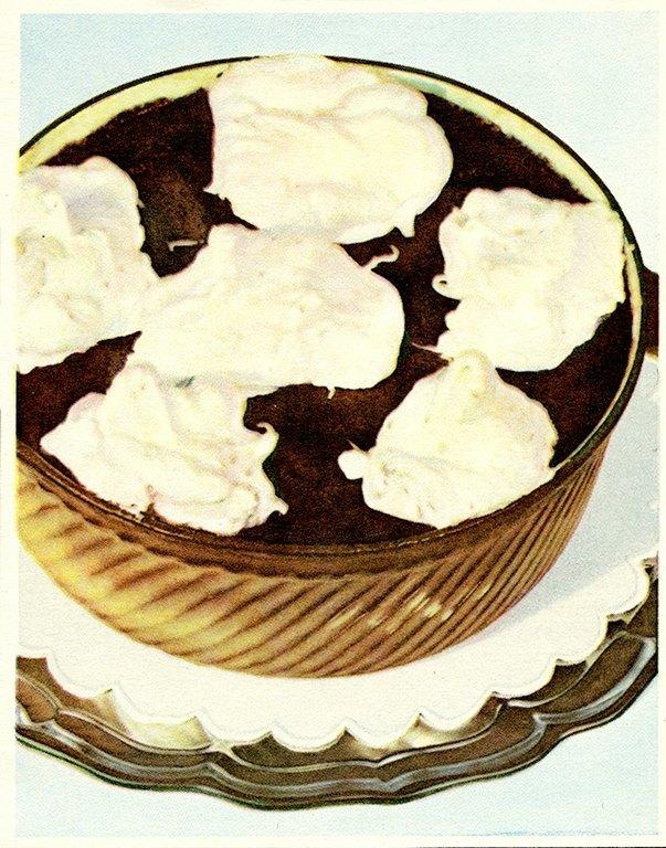 Chocolate Dessert BFCI4 - Framed Vintage Artwork from Interior Elements, Eagle WI