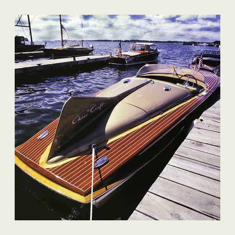 Chris Craft Cobra Boat BCCP15 - Framed Photography / Artwork from Interior Elements, Eagle WI