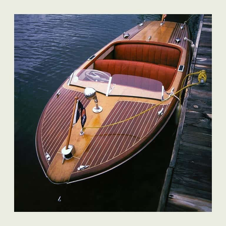 Chris Craft Runabout Boat BCCP16 - Framed Photography / Artwork from Interior Elements, Eagle WI