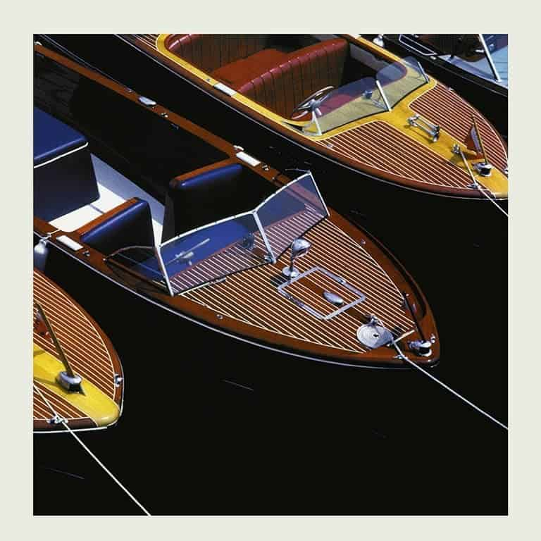 Chris Craft Trio Boats BCCP17 - Framed Photography / Artwork from Interior Elements, Eagle WI
