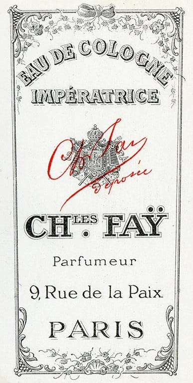 Cosmetic Label - Imperatrice CL4 - Framed Vintage Artwork from Interior Elements, Eagle WI