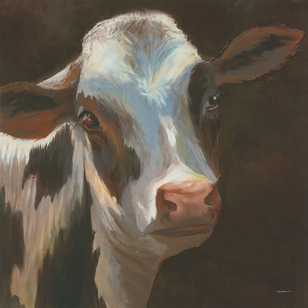 Cow SScow3 - Framed Artwork from Interior Elements, Eagle WI