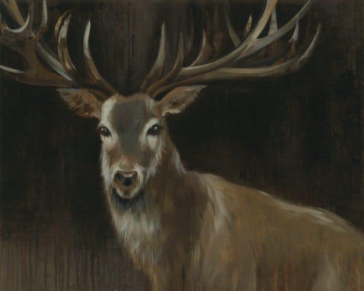 Deer SSD1 - Framed Artwork from Interior Elements, Eagle WI