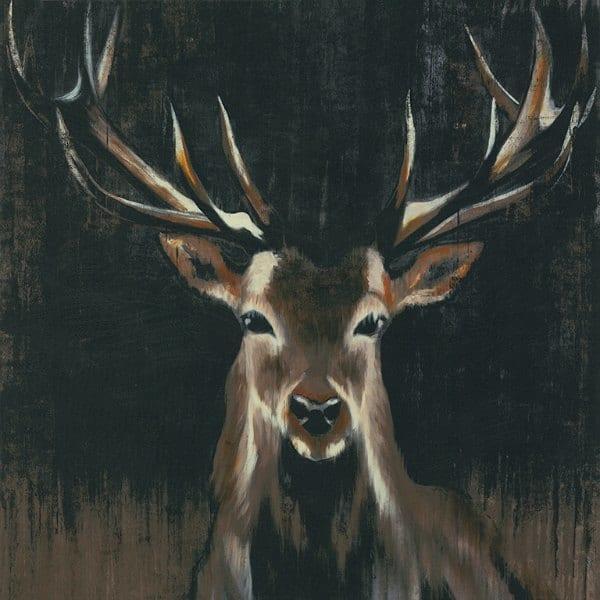Deer SSD2 - Framed Artwork from Interior Elements, Eagle WI