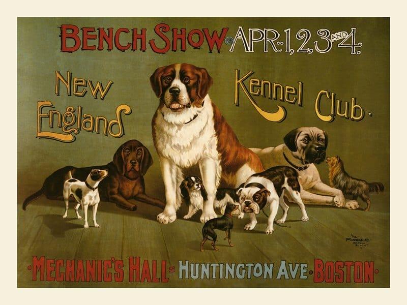 Dogs EPDS - Framed Vintage Artwork from Interior Elements, Eagle WI
