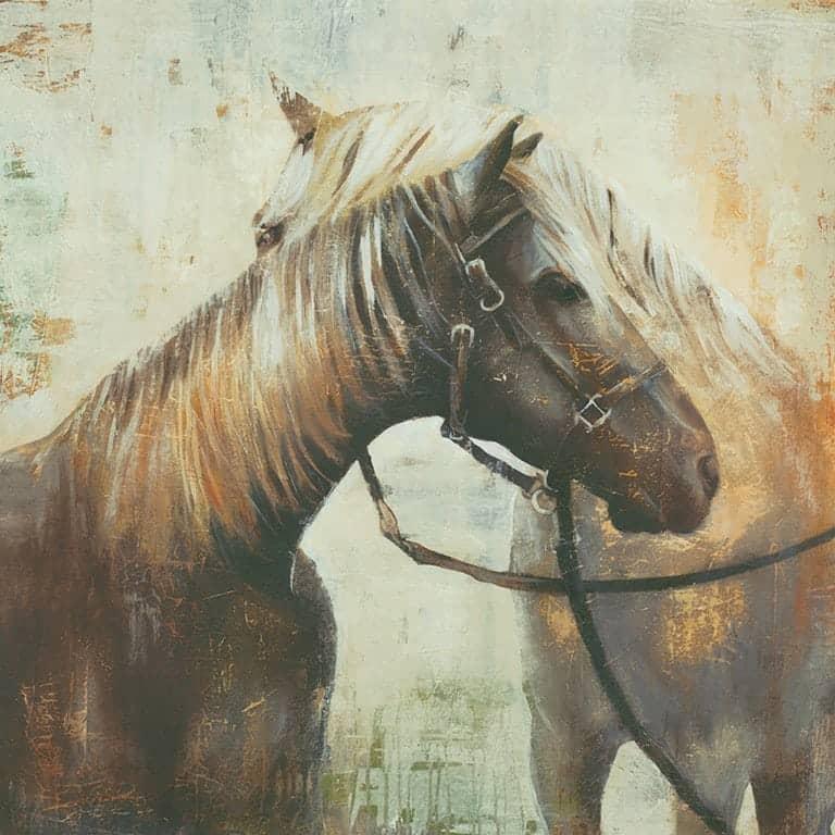 Horses SSEP - Framed Artwork from Interior Elements, Eagle WI
