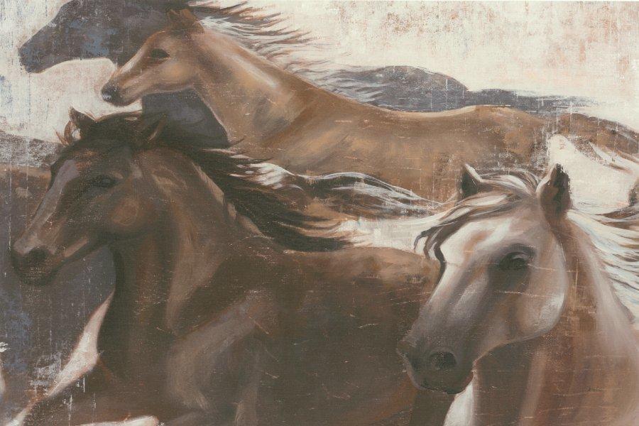 Horses SSH2 - Framed Artwork from Interior Elements, Eagle WI