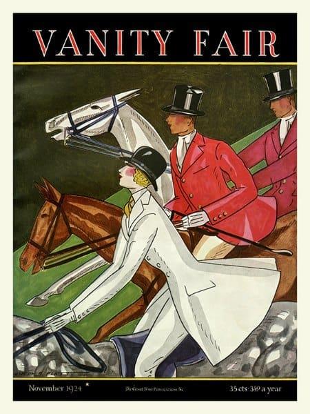 Horses Vanity Fair HVF - Framed Artwork from Interior Elements, Eagle WI