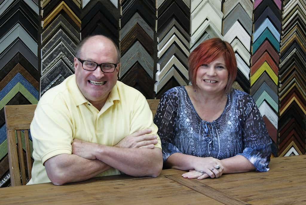 Steve Shearer & Judi Heinz of Interior Elements in Eagle, WI