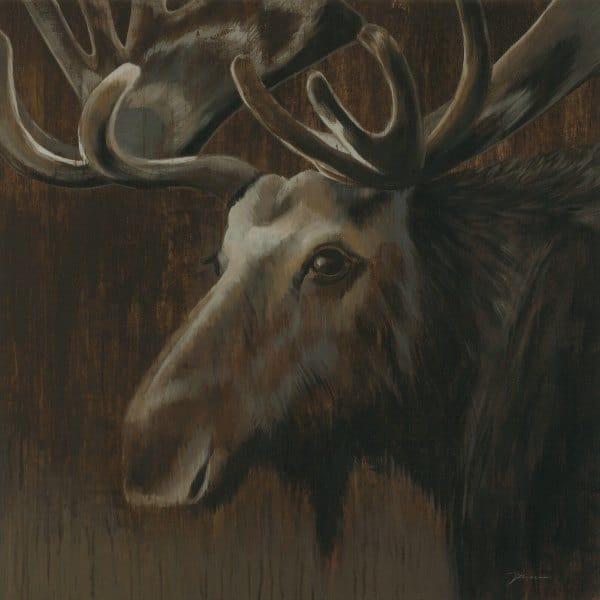 Moose SSM - Framed Artwork from Interior Elements, Eagle WI