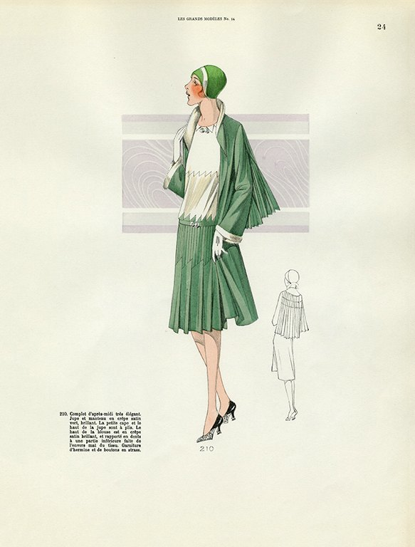 Womens Fashion 1929 FW20 - Framed Vintage Artwork from Interior Elements, Eagle WI