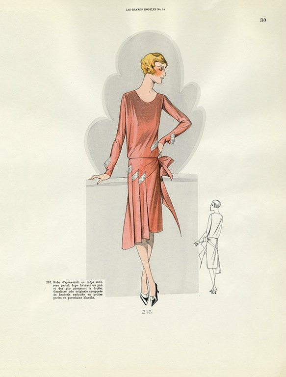 Womens Fashion 1929 FW26 - Framed Vintage Artwork from Interior Elements, Eagle WI