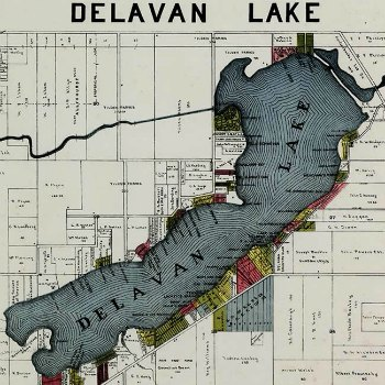 Map Artwork from Interior Elements, Eagle WI - Wholesale or Consignment