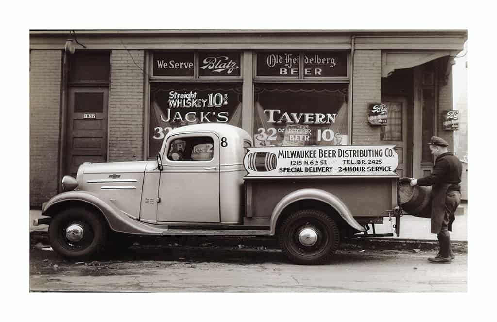 Beer-Truck-TrBT5 - Framed Photography / Artwork from Interior Elements, Eagle WI