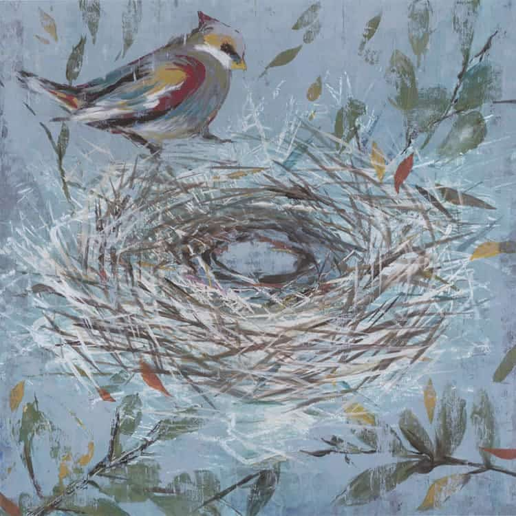 Bird-Nest-SSBN1 - Framed Artwork from Interior Elements, Eagle, WI