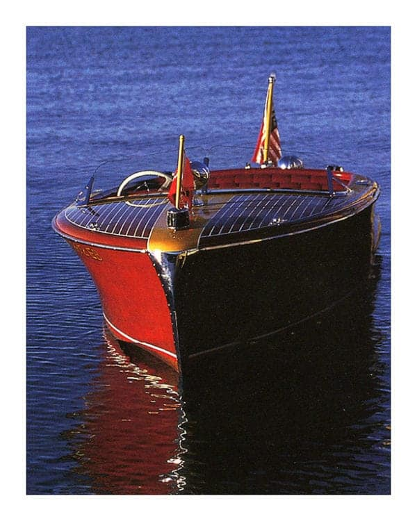 Boat-Chris-Craft-BP5 - Framed Vintage Artwork from Interior Elements, Eagle WI