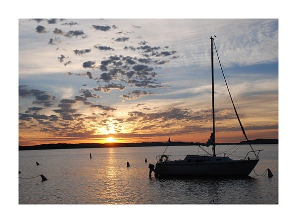 Boat-Sunset-Photo-CL22 - Framed Photography / Artwork from Interior Elements, Eagle WI