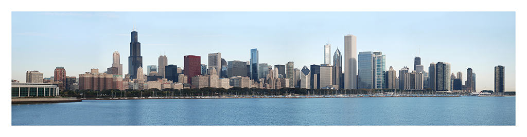 Chicago-Skyline-Photo-CL4 - Framed Photography / Artwork from Interior Elements, Eagle WI
