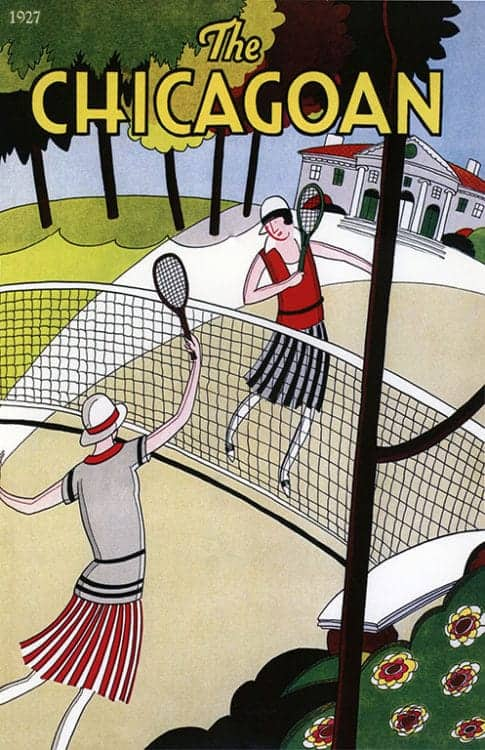 Chicago-Tennis-CHIT - Framed Artwork from Interior Elements, Eagle, WI