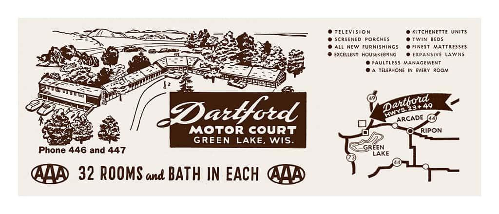 Dartford-Green-Lake-MCGLD - Framed Vintage Artwork from Interior Elements, Eagle WI