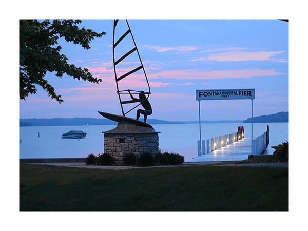 Fontana-Pier-Photo-CL25 - Framed Photography / Artwork from Interior Elements, Eagle WI