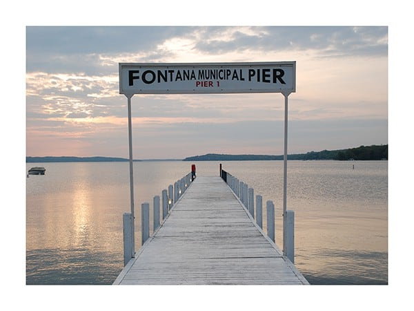 Fontana-Pier-Photo-CL26 - Framed Photography / Artwork from Interior Elements, Eagle WI