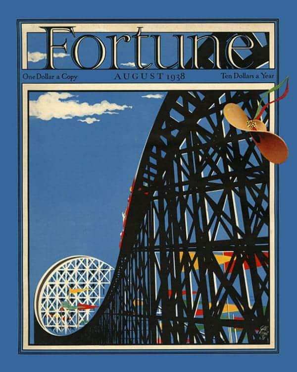 Fortune-Magazine-FMC1 - Framed Vintage Artwork from Interior Elements, Eagle WI