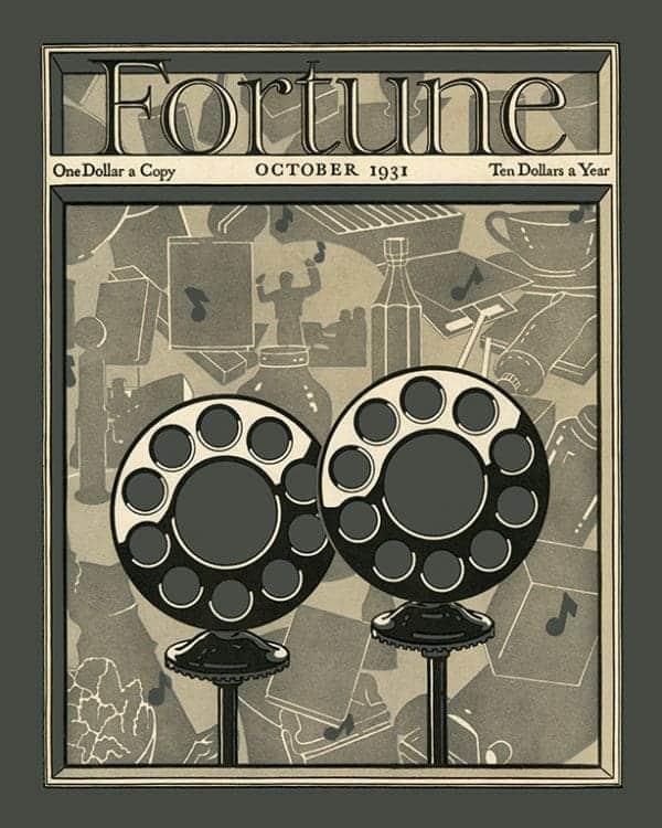 Fortune-Magazine-FMC3 - Framed Vintage Artwork from Interior Elements, Eagle WI