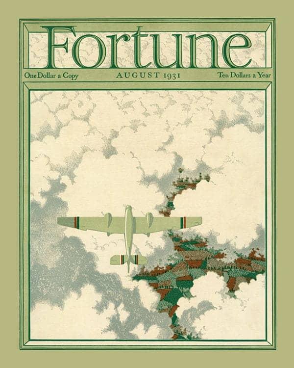 Fortune-Magazine-FMC5 - Framed Vintage Artwork from Interior Elements, Eagle WI