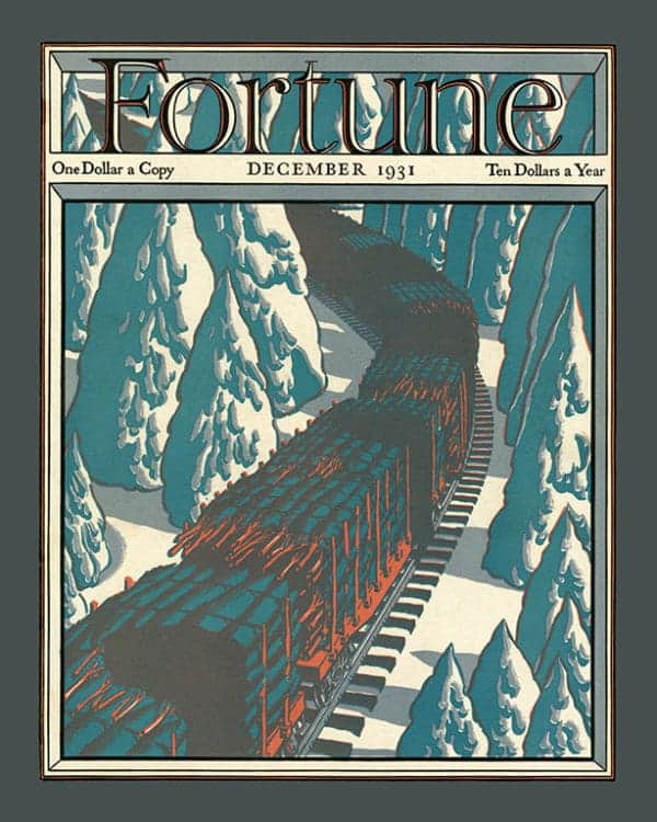 Fortune-Magazine-FMC7 - Framed Vintage Artwork from Interior Elements, Eagle WI