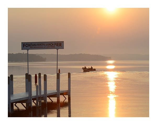 Nautical-Pier-Photo-CL10 - Framed Photography / Artwork from Interior Elements, Eagle WI