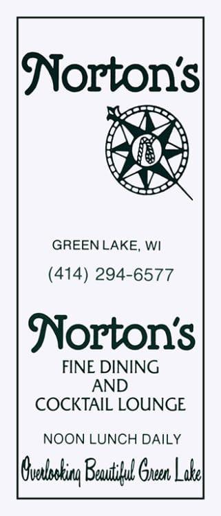 Nortons-Green-Lake-MCGLN - Framed Vintage Artwork from Interior Elements, Eagle WI