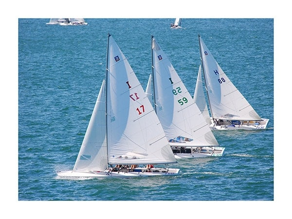 Sailing-Photo-CL28 - Framed Photography / Artwork from Interior Elements, Eagle WI
