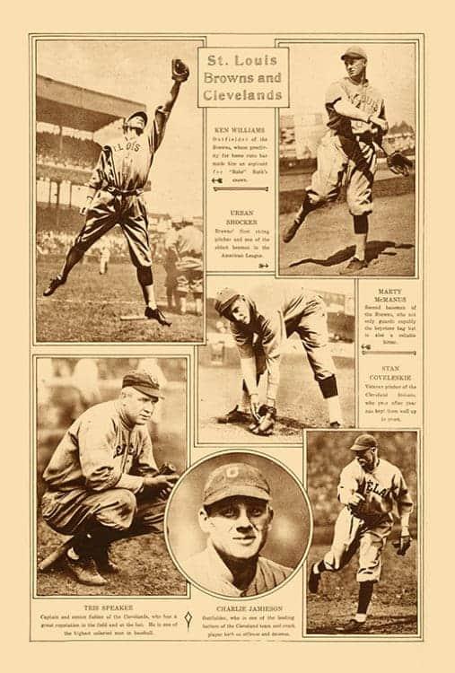Sports-Baseball-BB2-2 - Framed Vintage Artwork from Interior Elements, Eagle WI