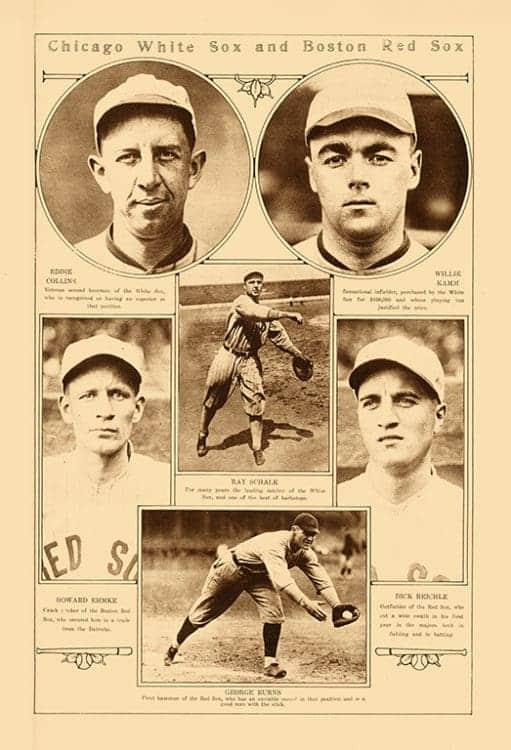 Sports-Baseball-BB3-2 - Framed Vintage Artwork from Interior Elements, Eagle WI