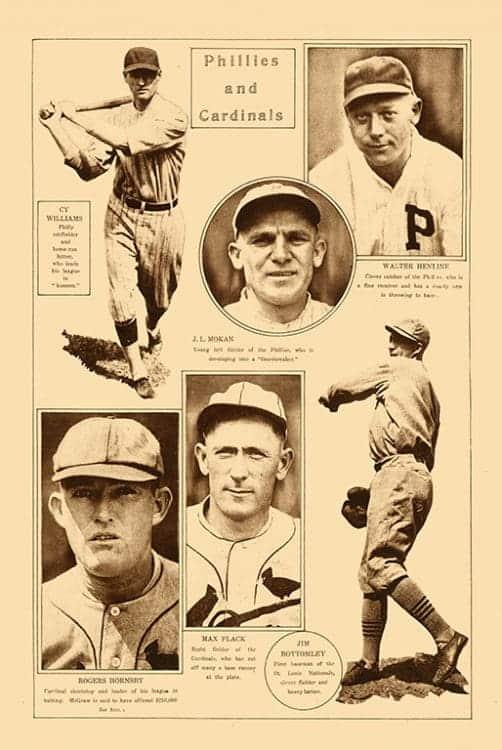 Sports-Baseball-BB4-2 - Framed Vintage Artwork from Interior Elements, Eagle WI