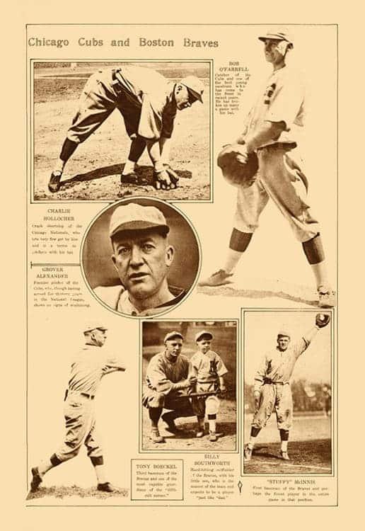 Sports-Baseball-BB5-2 - Framed Vintage Artwork from Interior Elements, Eagle WI