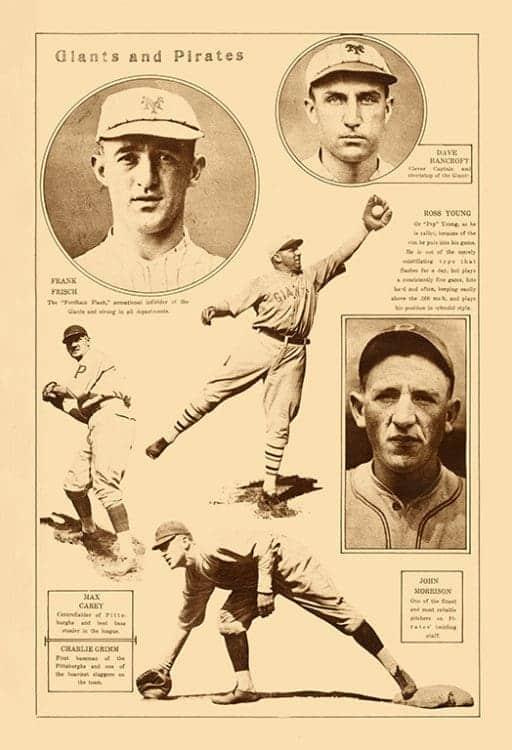 Sports-Baseball-BB8-2a - Framed Vintage Artwork from Interior Elements, Eagle WI