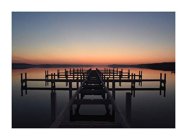 Still-Water-Pier-Phot-CL31 - Framed Photography / Artwork from Interior Elements, Eagle WI