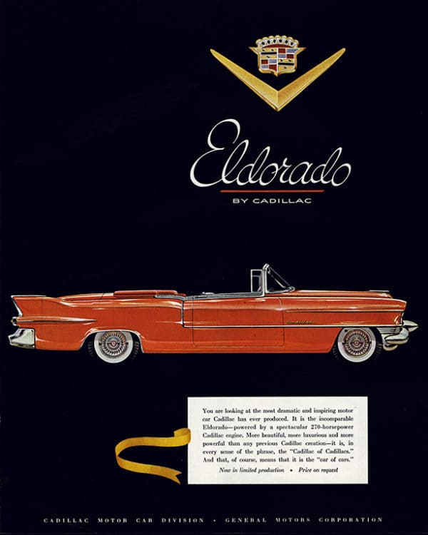 automobile-cars-cadillac-autoca1-Framed Vintage Artwork from Interior Elements, Eagle WI