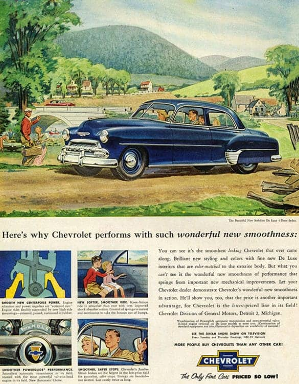 automobile-cars-chevy-autochev3-Framed Vintage Artwork from Interior Elements, Eagle WI